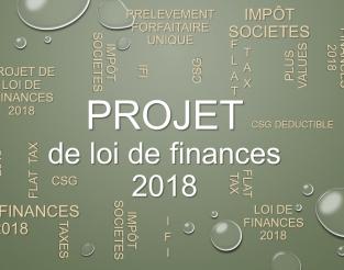 Projet loi de finances IS